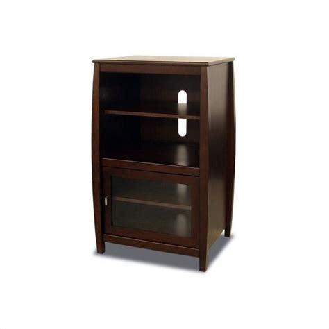 audio furniture audio racks and cabinets walnut 40 quot wood audio rack swh4024