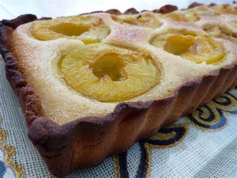 tarte aux prunes jaunes sur cr 232 me d amandes recette