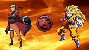 Naruto Sage Vs Goku Ssj3 YouTube