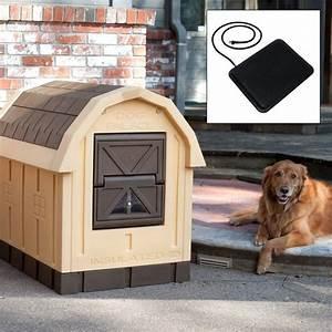 dog palace dog house with floor heater With dog house floor heater