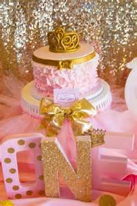 bridal shower pink and gold birthday party ideas