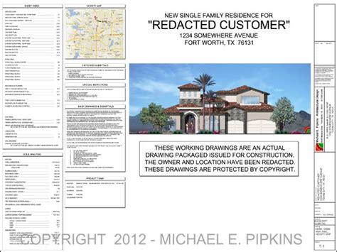 open floor plans sle architectural drawings michael e pipkins