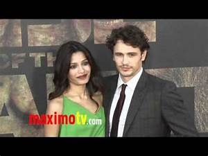 """Freida Pinto and James Franco at """"Rise of the Planet of ..."""