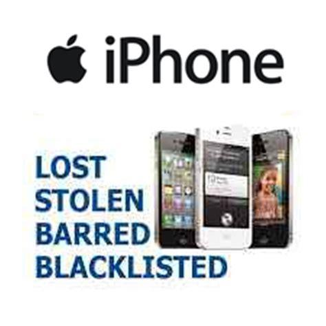 iphone blacklist check iphone blocked barred stolen blacklist check