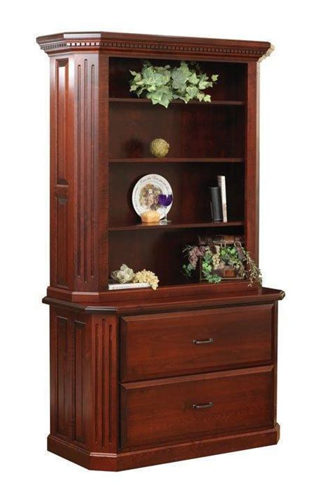 avenue  drawer lateral file cabinet  hutch