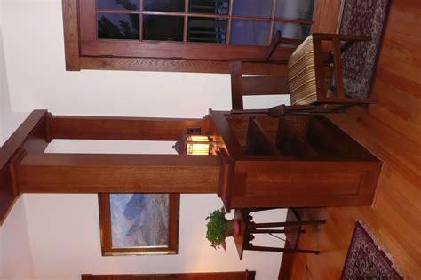 handmade living room divider  custom woodworking