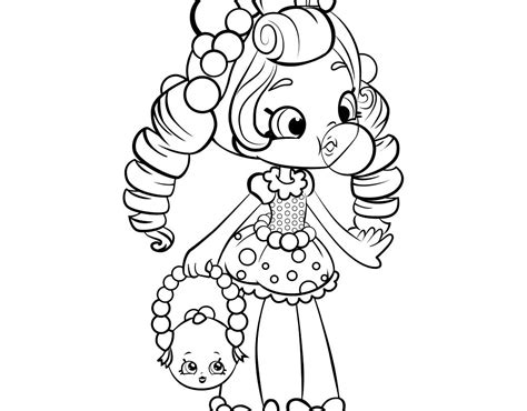 shoppie dolls coloring pages  getcoloringscom  printable colorings pages  print  color