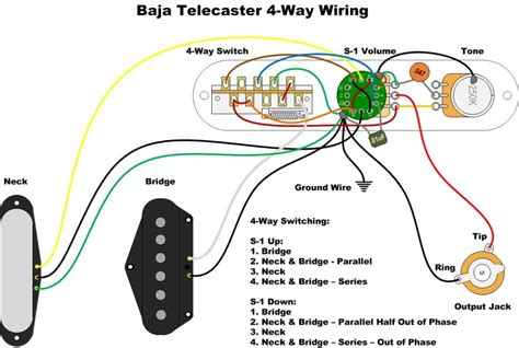 baja telecaster   switch mod
