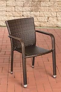 Polyrattan Stuhl Weiß : polyrattan stuhl leonie stapelstuhl gartenstuhl rattan gartensessel stapelbar ebay ~ Indierocktalk.com Haus und Dekorationen