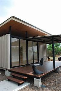 Best Prefab Modular Shipping Container Homes  Simple Shipping Container Home Made Of Two 20 Ft