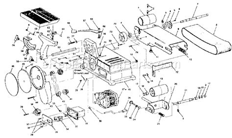 craftsman 113226421 parts list and diagram