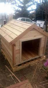 pallets wood dog house pallet furniture diy With wood for dog house