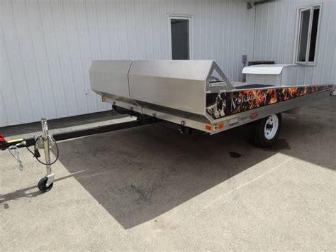 aluminum sled deck weight 2014 norbert s mfg aluminum tilt snowmobile trailer