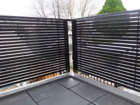 Horizontal Deck Railing Privacy
