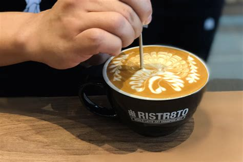 As it has a double ristretto as base a. Ristr8to - Hipster Coffee Place Found Within A Foodcourt At Tai Seng, By World Latte Art ...