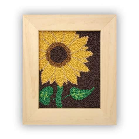 sunflower string art kit string   art