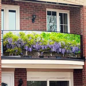 Sichtschutz Fuer Balkon : balkon sichtschutz blue rain 250 x 80 cm online kaufen bei g rtner p tschke ~ A.2002-acura-tl-radio.info Haus und Dekorationen