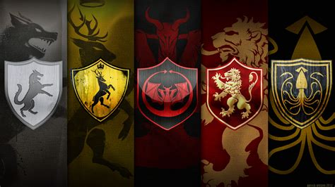Game of Thrones: Logo Seal Desktop Background HD 1920x1080 ...