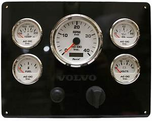 Volvo Marine Engine Instrument Panel Custom Design  With