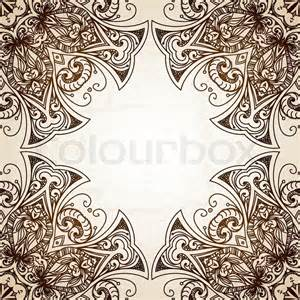 Vintage Vector Lace Pattern Border