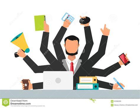 travail bureau types of stress clip images