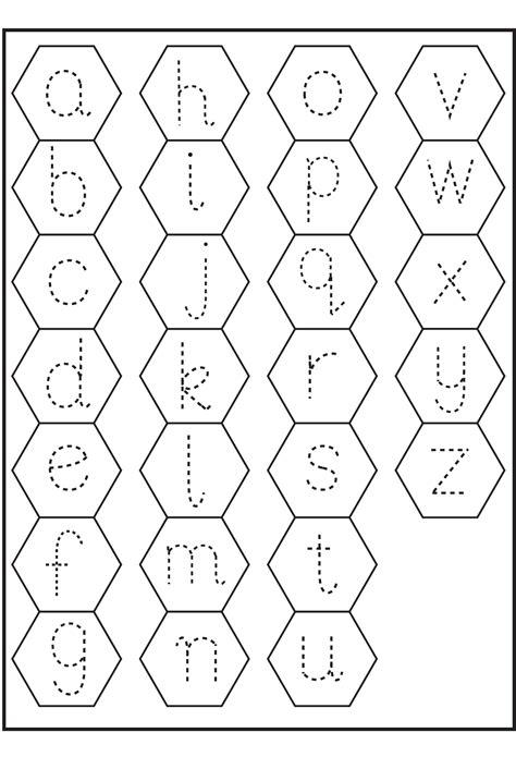 trace letter  worksheets activity shelter
