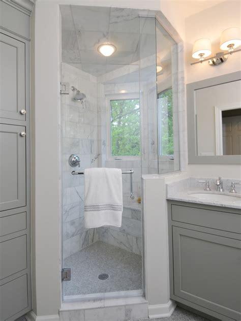 gray cabinets contemporary bathroom benjamin