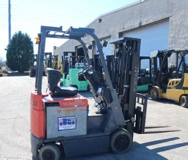 lb toyota electric forklift stage mast side shifting