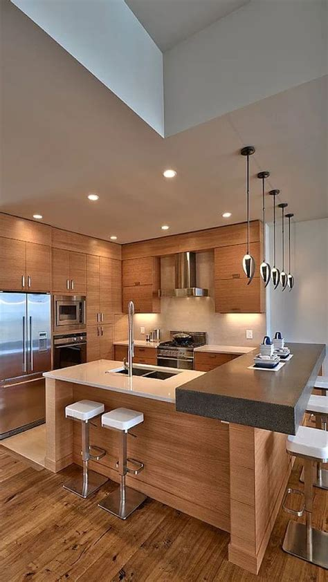 muebles de madera  cocina disenos rusticos modernos  mas