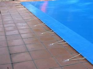 Bache À Barre Piscine : fixation bache piscine implantation piscine chromeleon ~ Melissatoandfro.com Idées de Décoration