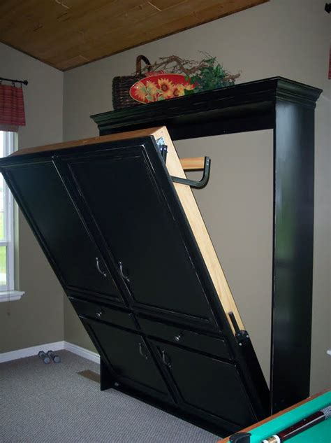 ikea cabinet bed cost diy murphy beds decorating your small space