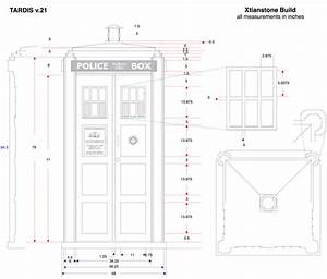 Hobbies and Crafts: TARDIS Plans (revision 21)