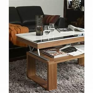 Table Basse Qui Monte : table basse qui se leve ~ Medecine-chirurgie-esthetiques.com Avis de Voitures