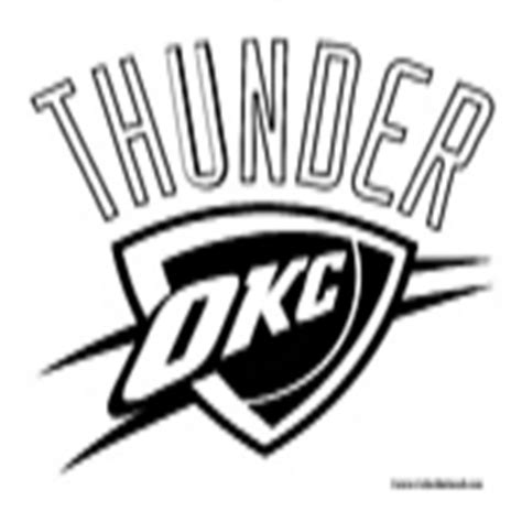 okc thunder court coloring pages coloring pages