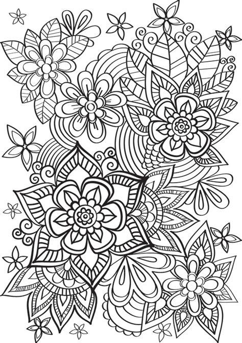 une cuisine pour tous de jolies fleurs à colorier créapassions