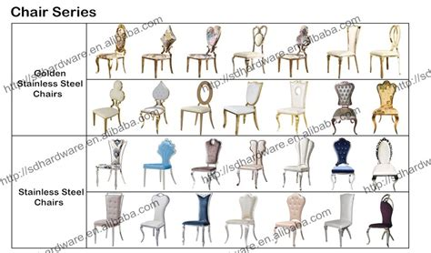 Type Of Chairs For Events by New Event Design Wedding Hotel Golden Stainless Steel