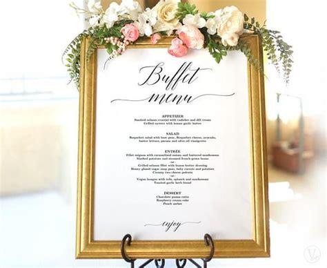Best 25+ Wedding Buffet Menu Ideas On Pinterest