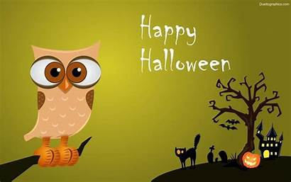 Halloween Wallpapers Background Windows Owl Backgrounds Desktop