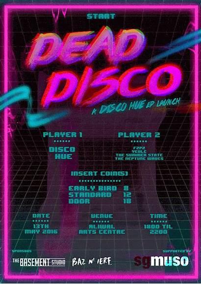 Disco 80s Hue Aesthetic Dance Floor Lyrics