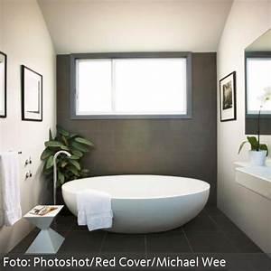 Badezimmer Mit Freistehender Badewanne : moderne b der mit freistehender badewanne ~ Bigdaddyawards.com Haus und Dekorationen