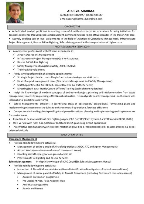 resume format for aviation ground staff 28 images