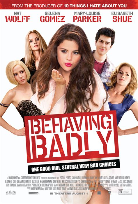 Selena Gomez Behaving Badly 2014 Promos And Posters