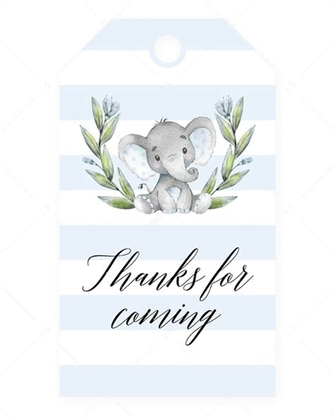 Leave a reply cancel reply. Editable Baby Shower Favor Tag Elephant Theme | Bebek ...