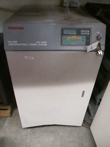 toshiba  series   uninterruptible power system transformer ph kva