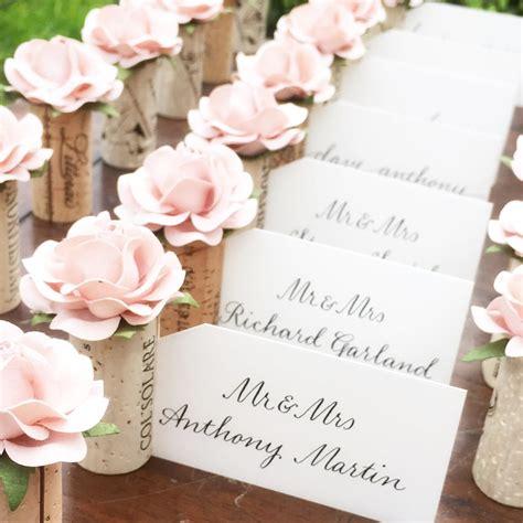 wedding place card holder karas vineyard wedding