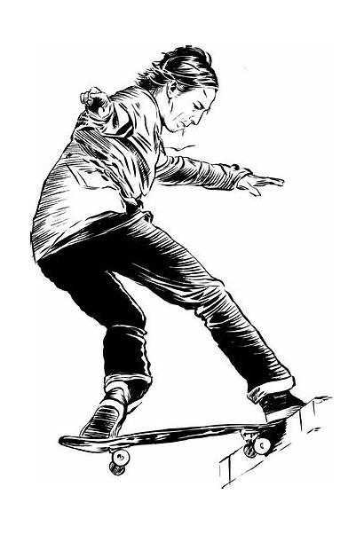 Hawk Tony Coloring Skater Pro Pages Sparrowhawk