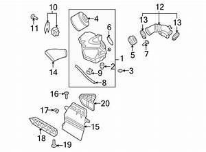 2009 Audi S5 Engine Air Intake Hose  Vacuum Line  2 7