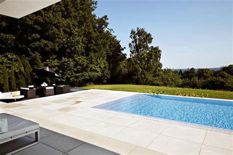 backyard infinity pool and patio interior design ideas