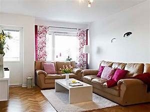 Bloombety very small living room design ideas with white for Small apartment living room layout