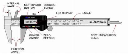 Digital Gauge Calibre Caliper Vernier 150mm Siliceo